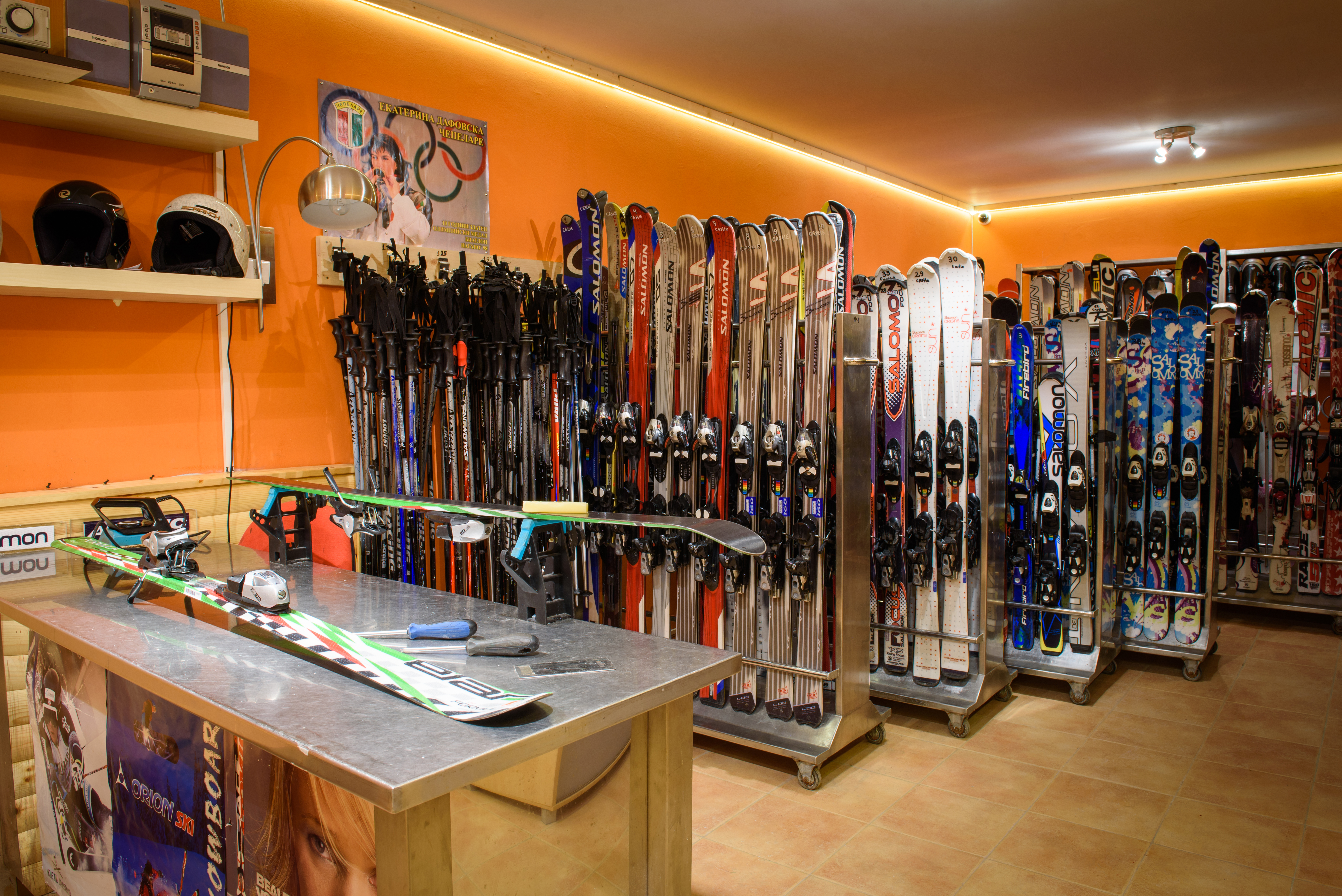 Наем на Ски гардероб в Комплекс Замъка