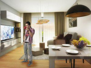 "Апартамент Б – 35 в комплекс ""Panorama Park"""